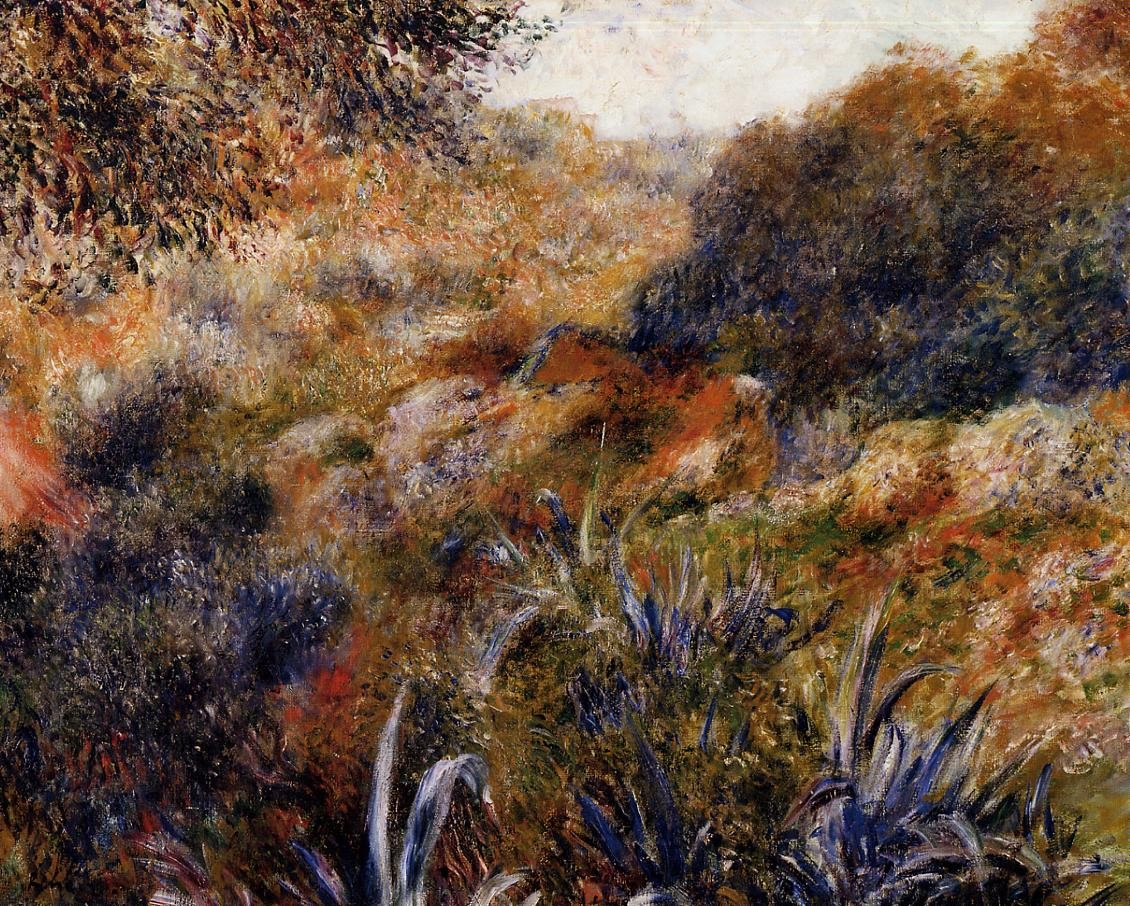 Algerian landscape (also known as The Ravine of the Wild Women) 1881 xx musee dorsay paris